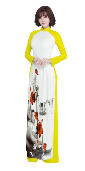 Luxury Yellow Ao Dai