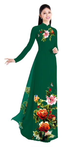 Winter Mrytle Ao Dai