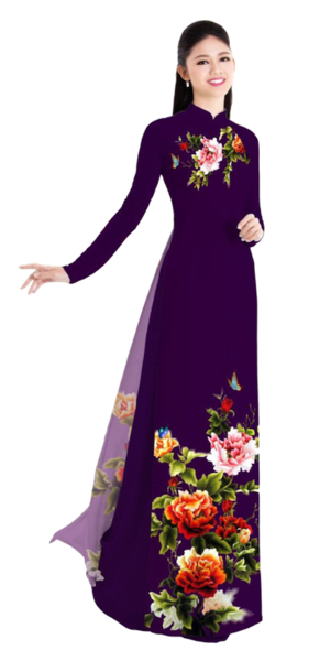 Winter Sienna Ao Dai