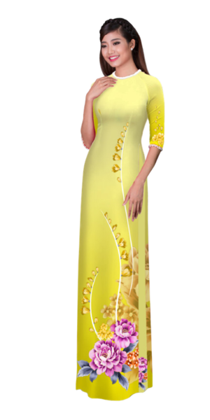 Winter Sunrise Ao Dai