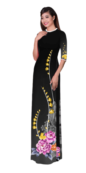 Winter Onyx Ao Dai