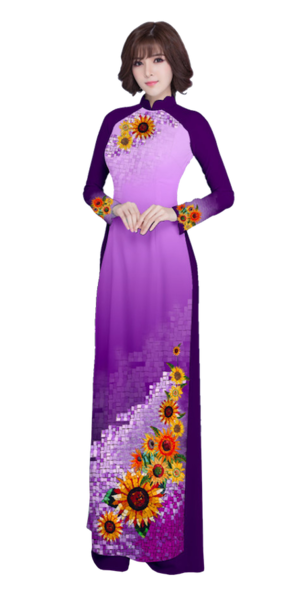 Evening Purple Ao Dai