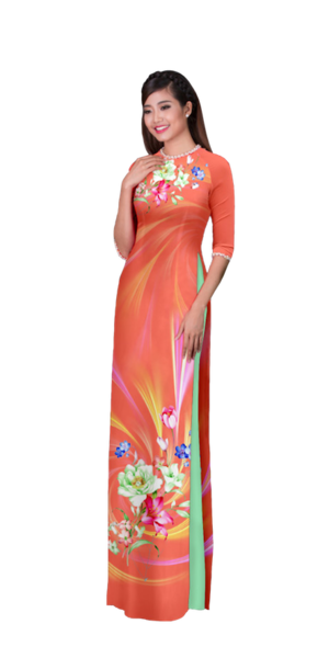 Evening Sienna Ao Dai