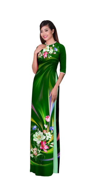 Evening Forest Ao Dai