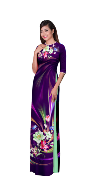 Evening Lavender Ao Dai