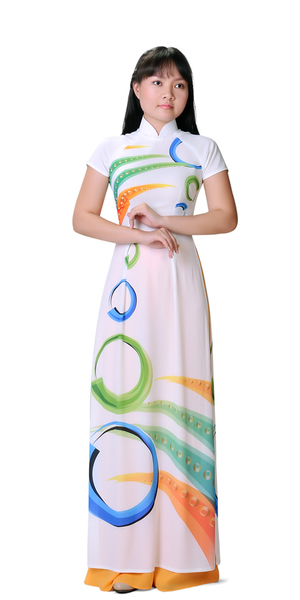 White Olympic Ao Dai