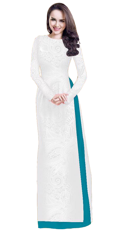White Smoke Ao Dai