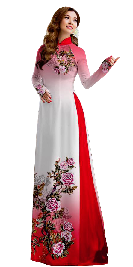 Royal Red Ao Dai
