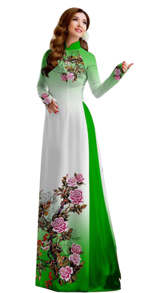 Royal Green Ao Dai