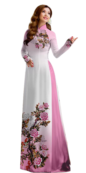 Royal Pink Ao Dai