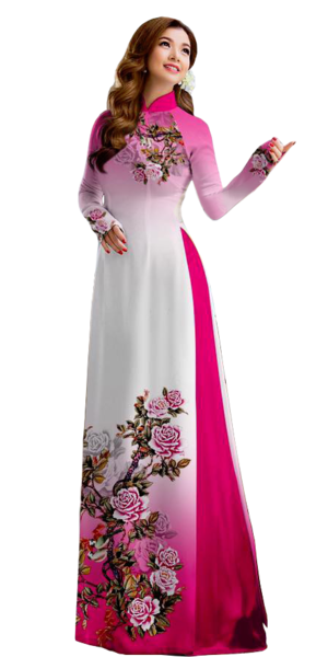 Royal Ruby Ao Dai