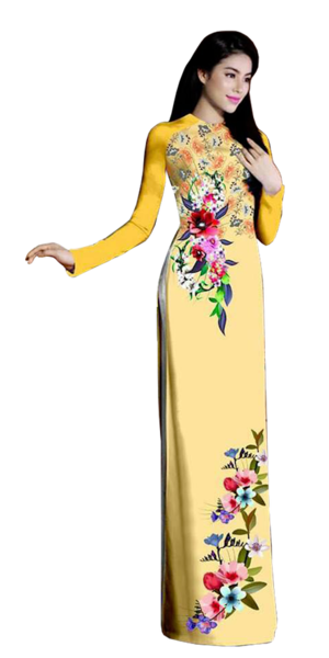 Wilderness Sunset Ao Dai