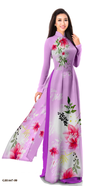 Midnight Purple Ao Dai