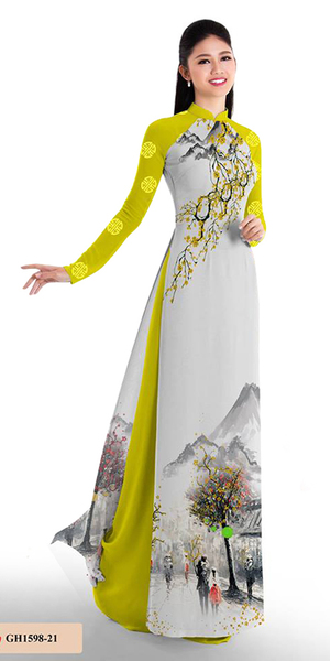 Autumn Yellow Ao Dai