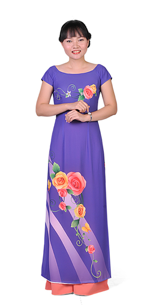 Royal Purple Ao Dai