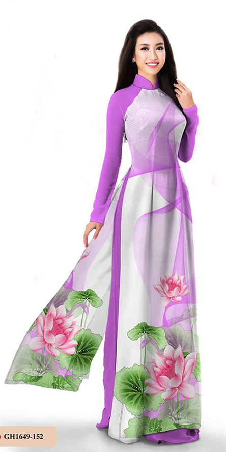 Premium Purple Ao Dai