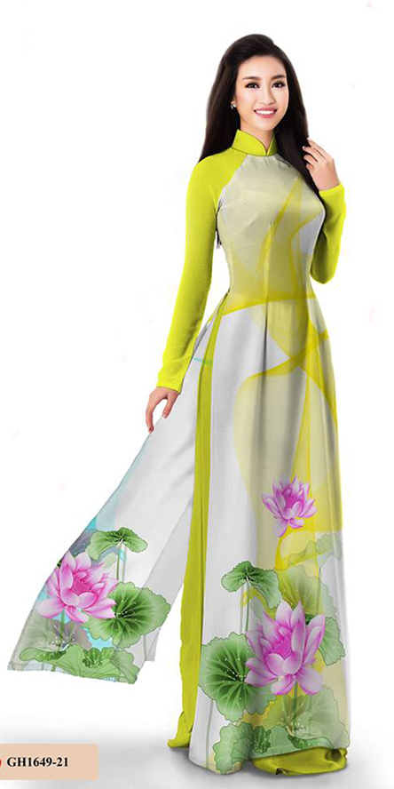 Premium Yellow Ao Dai