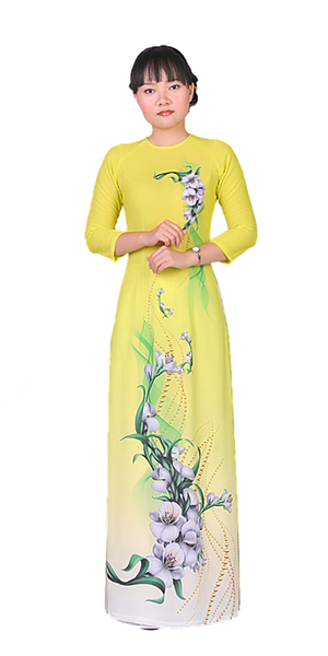 Dragon Yellow Ao Dai