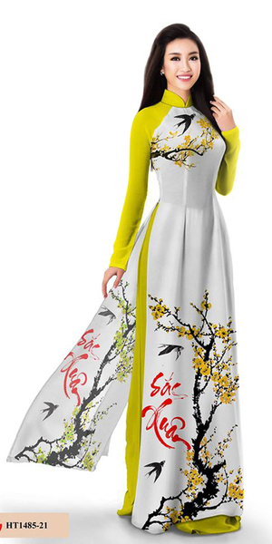 Spring Yellow Ao Dai