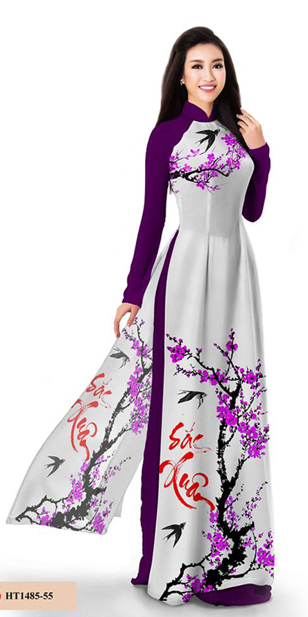 Spring Purple Ao Dai