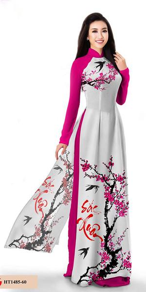 Spring Pink Ao Dai