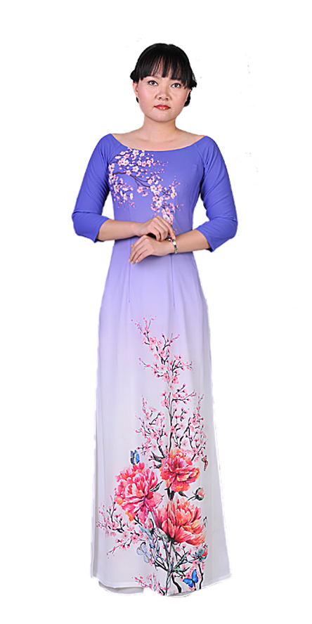 Purple Night Ao Dai