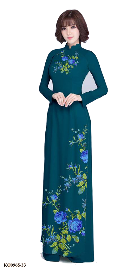 Summer Green Ao Dai