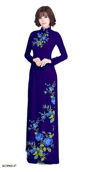 Summer Purple Ao Dai
