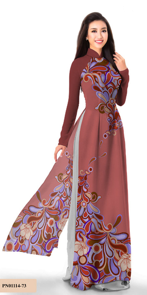 Essential Chestnut Ao Dai