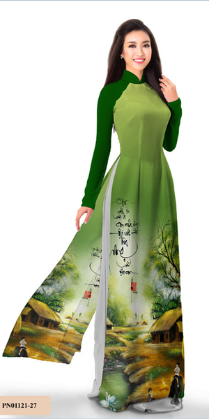Essential Green Ao Dai