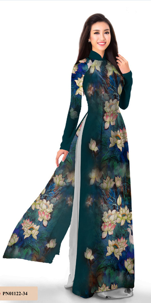 Essential Blue Ao Dai